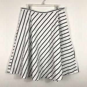 ❌Sold❌ Lauren Ralph Lauren Striped Circle Skirt